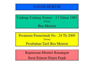 Beberapa Pengertian Pasal 1 ayat (2) UU No. 13 Th 1985