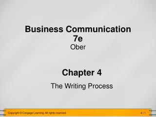 Business Communication 7e Ober
