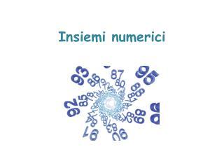 Insiemi numerici