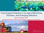 Food Supply Protection in an Age of Biocrimes