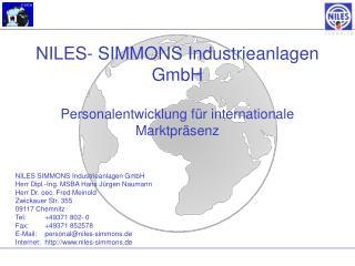 NILES- SIMMONS Industrieanlagen GmbH