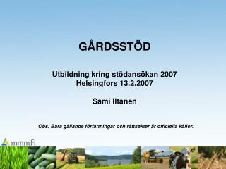 TIDTABELL VÅREN 2007