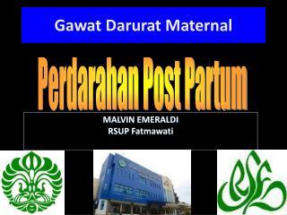 MALVIN  EMERALDI RSUP  Fatmawati