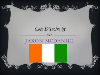 Jaxon mcdaniel