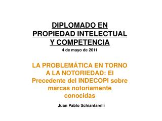 Juan Pablo Schiantarelli