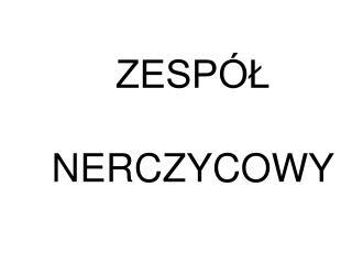 ZESP L   NERCZYCOWY