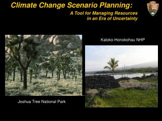 Climate Change Scenario Planning: