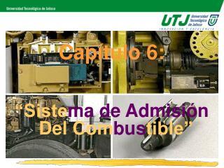 Cap tulo 6:     Sistema de Admisi n Del Combustible