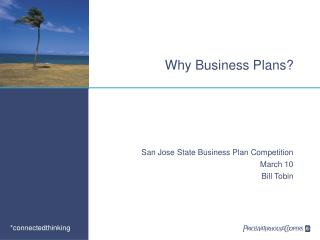 Why Business Plans?