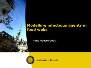 Modelling  infectious agents in food webs