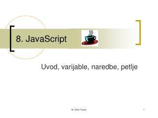 8. JavaScript
