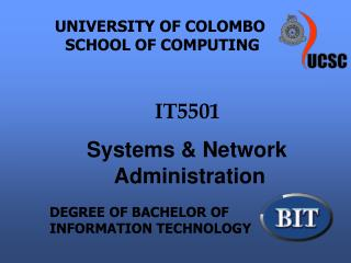 UNIVERSITY OF COLOMBO           SCHOOL OF COMPUTING