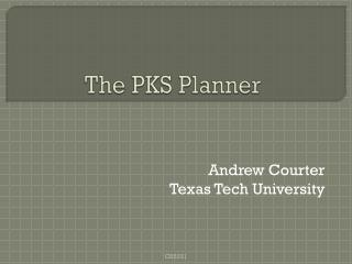 The PKS Planner