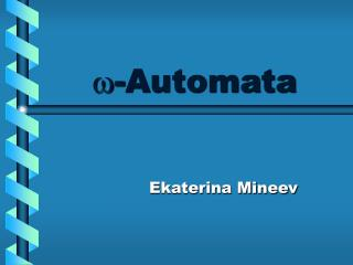 -Automata