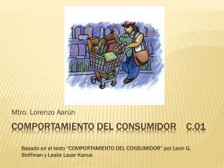 Comportamiento del consumidor    c.01