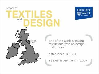 one of the world's leading textile and fashion design institutions established in 1883