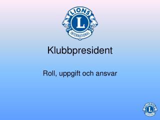 Klubbpresident
