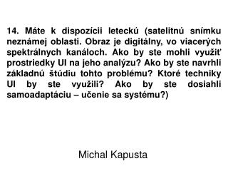 Michal Kapusta
