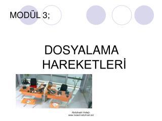 MODÜL 3;