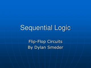Sequential Logic