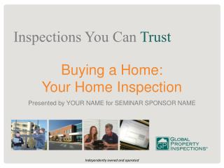 Presented by YOUR NAME for SEMINAR SPONSOR NAME