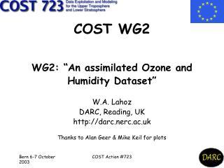 COST WG2