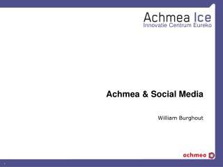 Achmea & Social Media
