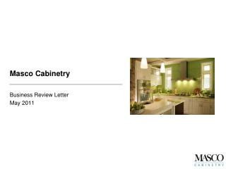 Masco Cabinetry