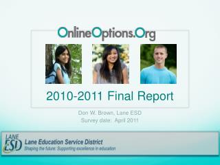 2010-2011 Final Report
