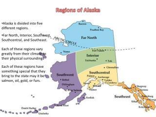 Regions of Alaska