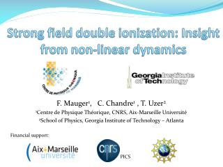 Strong field double ionization: Insight from non-linear dynamics