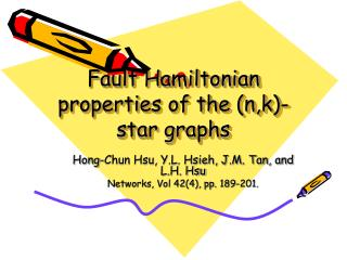 Fault Hamiltonian properties of the (n,k)-star graphs