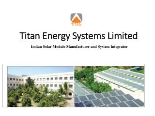Titan Energy Systems Limited