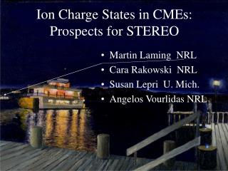 Ion Charge States in CMEs:  Prospects for STEREO