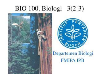 Departemen Biologi