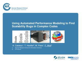 Using Automated Performance Modeling to Find Scalability Bugs in Complex Codes