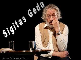 Sigitas Geda