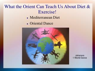 What the Orient Can Teach Us About Diet & Exercise!