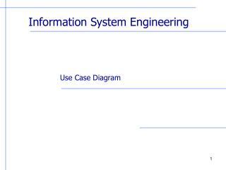 Information System Engineering