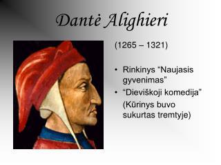 Dantė Alighieri