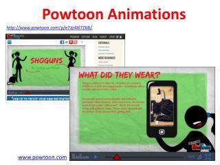 Powtoon Animations