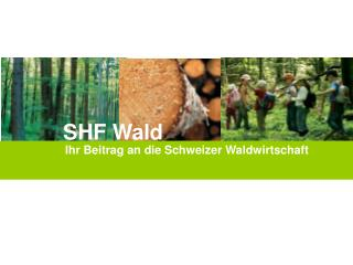 Ihr Beitrag an die Schweizer Waldwirtschaft