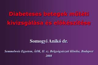 Somogyi Anik  dr.