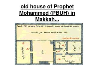 old house of Prophet Mohammed (PBUH) in Makkah...