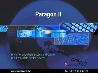 Paragon II  The industry's best KVM switch just got better!