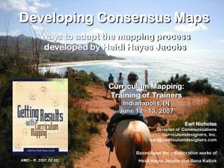 Developing Consensus Maps