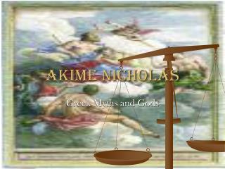 Akime Nicholas