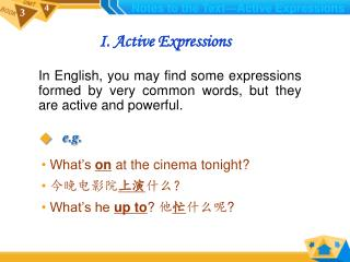I. Active Expressions