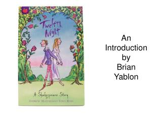 An Introduction by  Brian Yablon