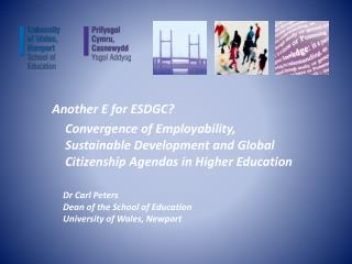 Another E for ESDGC?